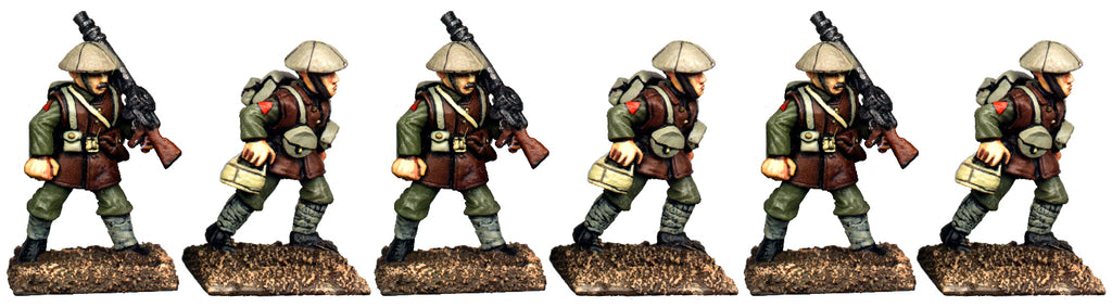 GWB016 - British Lewis Gun Crew In Covered Helmets
