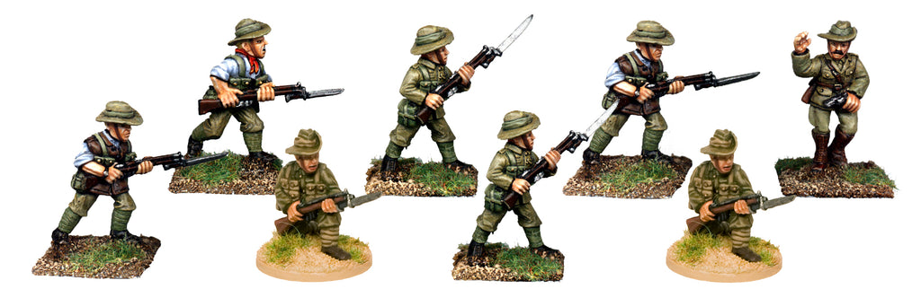 GWB021 -  Australian Infantry Attacking