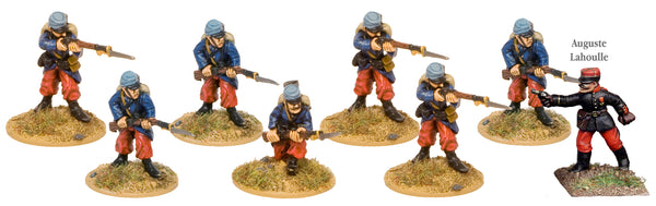 GWF005 - French Infantry In Kepis Firing Line