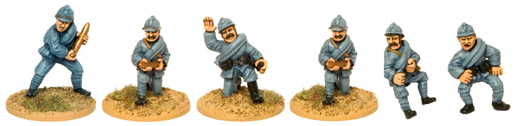 GWF008 - French In Jelmets Artillery Crew