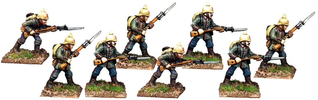GWG002 - German Infantry In Pickelhaube