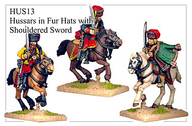 HUS013 - Hussars In Fur Hats