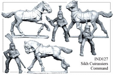 IND127 Sikh Cuirassiers Command