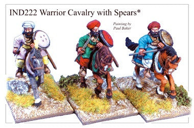 IND222 Cavalry with Spears