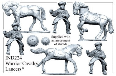 IND224 Cavalry with Lances