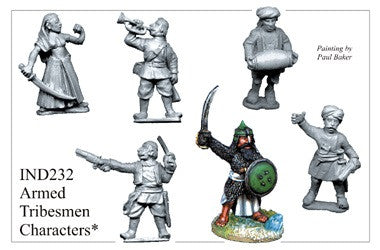 IND232 Armed Characters