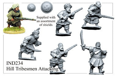 IND234 Afghan Tribesmen Attacking