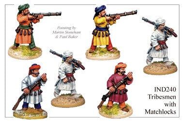IND240 Tribesmen with Matchlocks