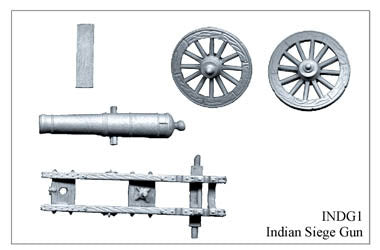 INDG001 Indian Siege Gun