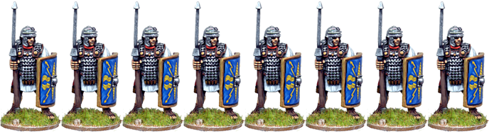 IR015 - Legionaries In Chainmail With Pilum