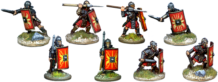 IR022 - Assorted Legionaries, Armoured Forearms