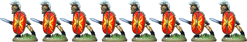 IR065 - Praetorian Guard, Segmented Armour, Advancing with Gladius