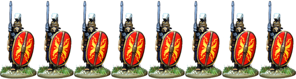 IR068 - Praetorian Guard, Segmented Armour, Advancing with Pilum