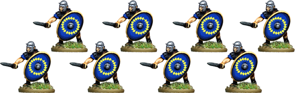 IR071 - Auxilia, Mail Armour, Thrusting with Gladius
