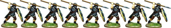 IR072 - Auxilia, Mail Armour, Attacking with Spear