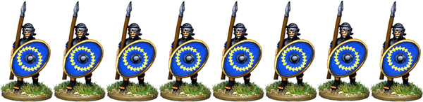 IR073 - Auxilia, Mail Armour, Advancing with Spear