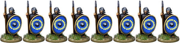 IR074 - Auxilia, Mail Armour, Standing with Spear