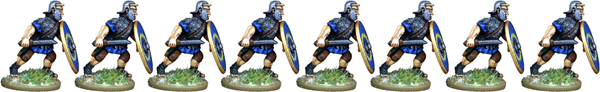 IR076 - Auxilia, Mail Armour, Advancing with Gladius