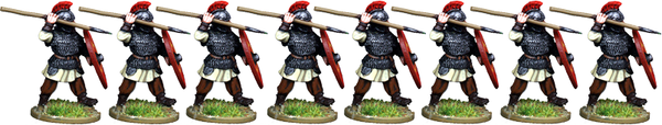 LR006 - Armoured Late Roman Infantry Advancing