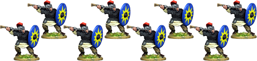 LR007 - Armoured Late Roman Infantry Throwing Dart