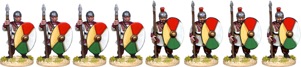 LR010 - Late Roman Infantry Standing