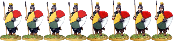 LR011 - Late Roman Infantry Marching 1