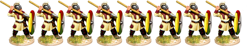 LR015 - Late Roman Infantry Advancing 1