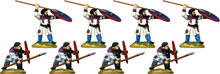 LR017 - Late Roman Infantry Defending