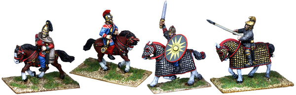 LR020 - Mounted Late Roman Commanders