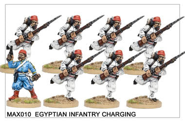 MAX010 Egyptian Infantry Charging