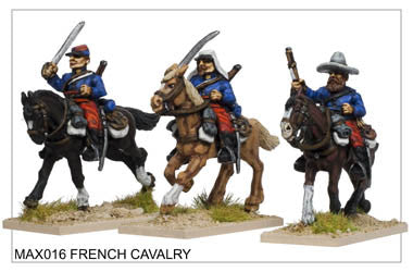 MAX016 French Cavalry