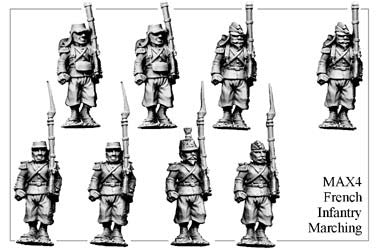 MAX004 French Infantry Marching