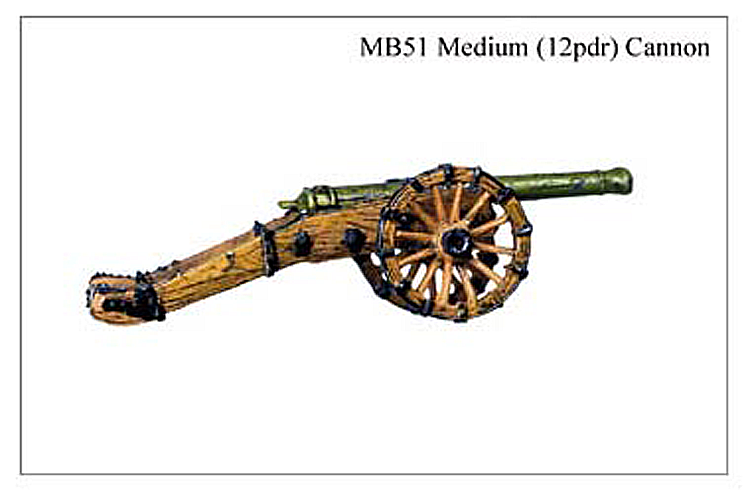 MB051 - Demi Culverin 12 Pounder Cannon