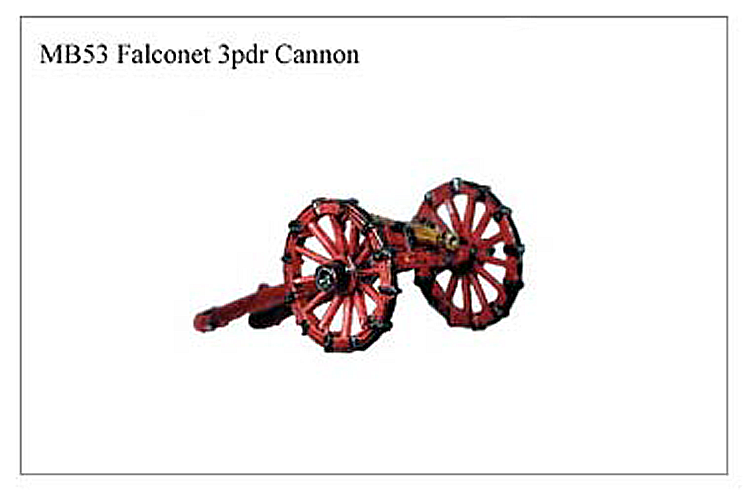 MB053 -  Falconet 3 Pounder Cannon