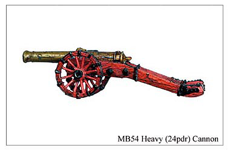 MB054 - Demi Cannon 24 Pounder Cannon