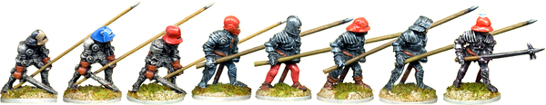 MED108 - Armoured Footmen or Pikemen
