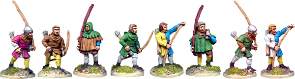 MED214 - Medieval Archers Advancing