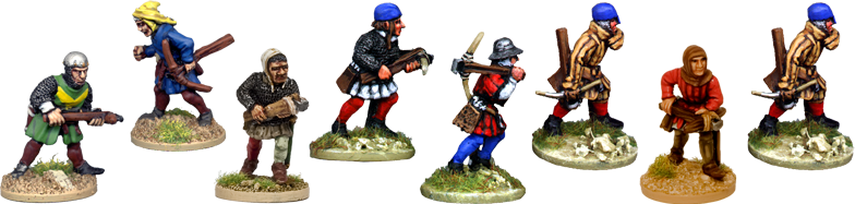 MED308 - Crossbowmen Advancing