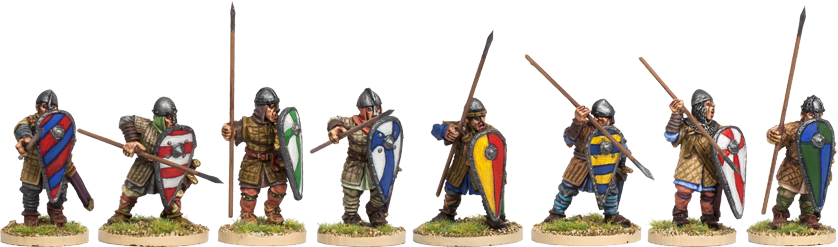 NM012 - Norman Spearmen Advancing