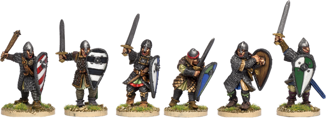NM016 - Dismounted Norman Knights