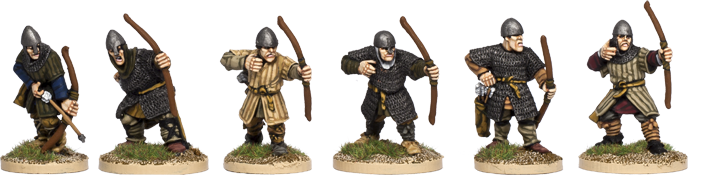 NM018 - Armoured Norman Archers