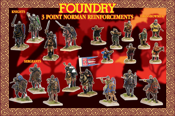 Norman Reinforcements (3 points) Suitable for SAGA