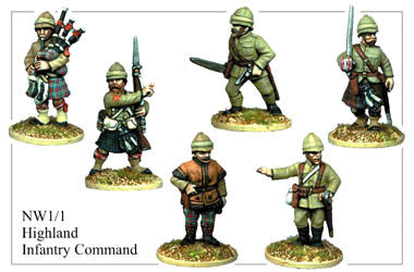 NW011 Highland Infantry Command