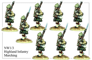 NW013 Highland Infantry Marching