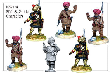 NW014 Sikh and Guide Characters