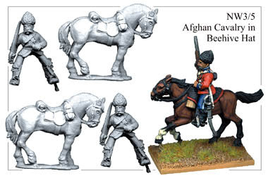 NW035 Afghan Cavalry in Beehive Hat