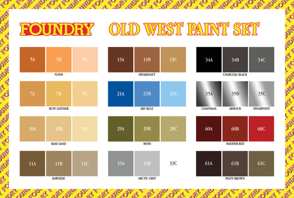 Old West Paint Set