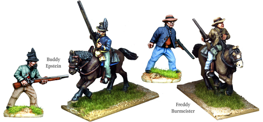 OW028 - Seventh Kansas Cavalry Buddy Epstein And Freddy Burmeister