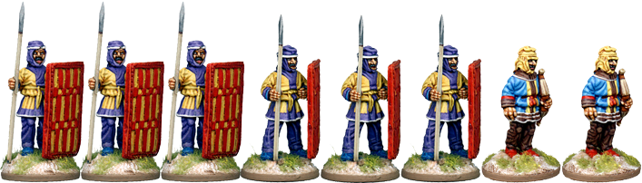 PER012 - Later Persian Infantry