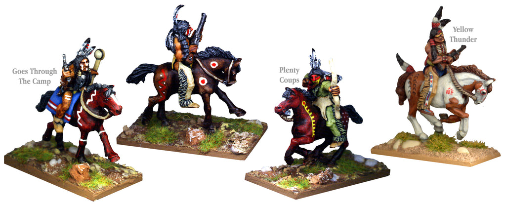 PI003B - Plains Indians Mounted Dog Soldiers